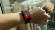 Pebble Smartwatch ausprobiert (CES 2013)