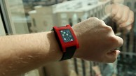 Pebble Smartwatch ausprobiert (CES 2013)
