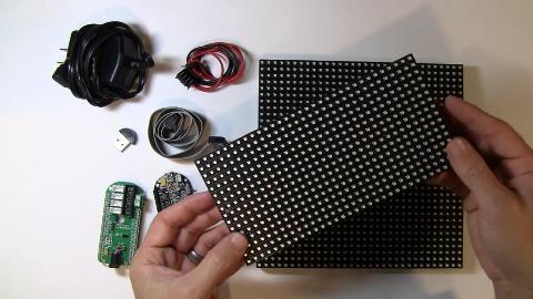Pixel - Innenleben des digitalen Bilderrahmens