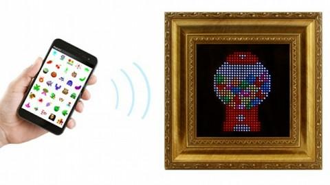 Pixel - animierter Bilderrahmen bei Kickstarter