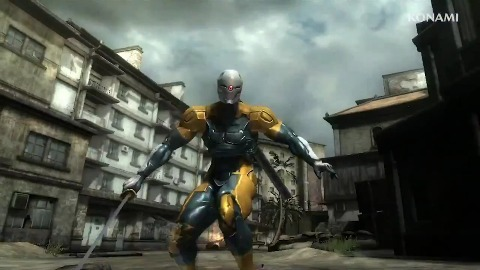 Metal Gear Rising Revengeance - Gray Fox Skin