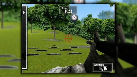 NRA Practice Range für iOS - Gameplay
