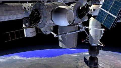 Aufblasbares Modul an der ISS