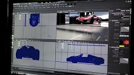 Caustic Visualizer für Maya - Porsche 918 Spyder
