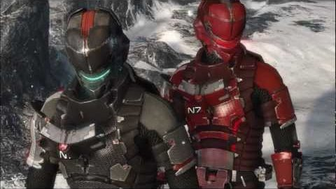 N7-Anzug aus Mass Effect in Dead Space 3