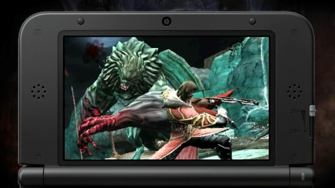 Castlevania Lords of Shadow - Trailer (3DS, Gameplay)