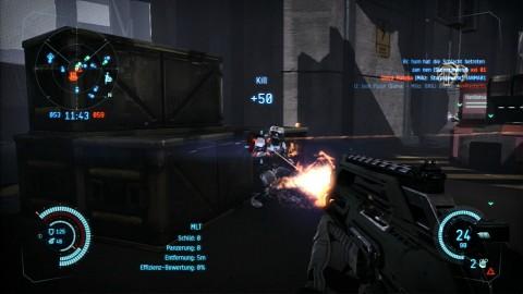 5 Kills und Level Up in Dust 514 - Gameplay