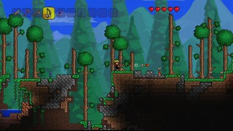 Terraria für Konsolen - Trailer (Gameplay)