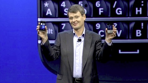 Thorsten Heins stellt Blackberry Z10 und Q10 vor