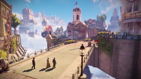 Bioshock Infinite - Trailer (City in the Sky)