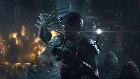 Aliens Colonial Marines - Trailer (Contact Extended)
