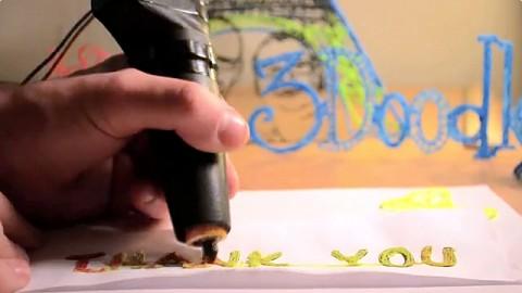 3Doodler als 3D-Drucker mit Handbetrieb (Kickstarter)