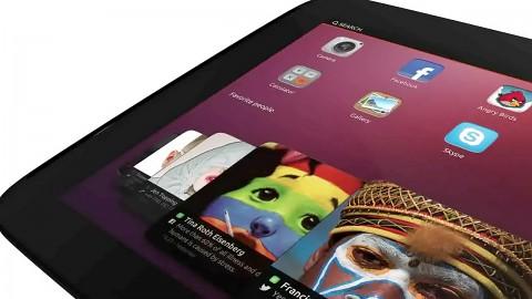 Mark Shuttleworth führt Ubuntu auf Tablets vor