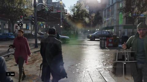 Ubisoft zeigt Watch Dogs für Playstation 4 (Gameplay)