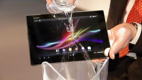 Sony zeigt das Xperia Tablet Z (MWC 2013)