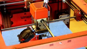 Ultimaker-3D-Drucker in Aktion