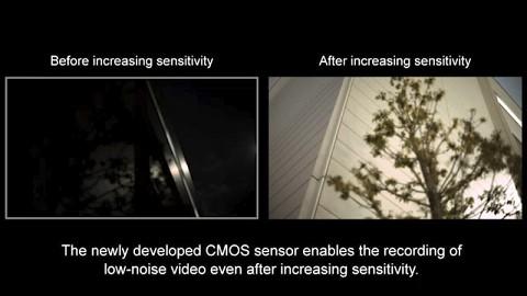 Vollformat-Filmsensor von Canon reicht Mondschein