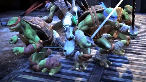 Ninja Turtles Aus den Schatten - Teaser (Gameplay)
