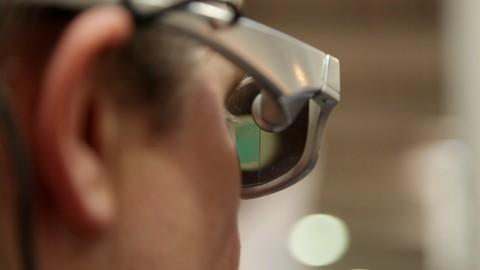Datenbrille Glass Up - Interview und Hands on