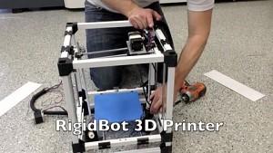 3D-Drucker Rigidbot - Kickstarter