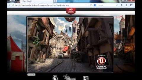 Unreal Engine 3 läuft direkt in Firefox