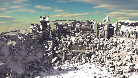 Nvidia zeigt Levelzerstörung in Echtzeit (GDC 2013)