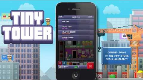 Tiny Tower - Trailer (iOS)