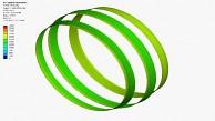 Kompression der Lithium-Ringe - Animation