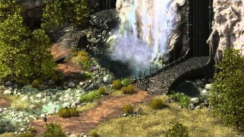 Project Eternity - animierte Landschaft in der Engine
