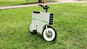 Zeit Eco - ein Elektroscooter in Kofferform