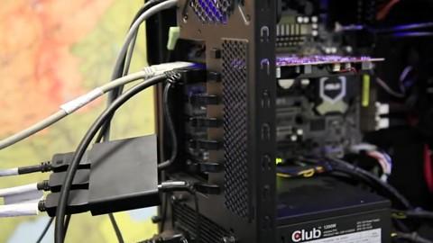 Club 3D zeigt MST mit drei Displays