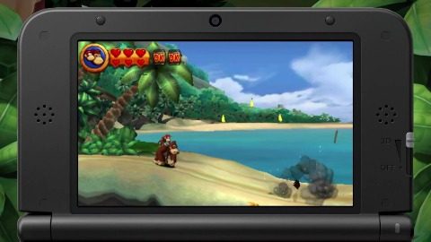 Donkey Kong Country Returns 3D - Trailer