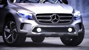 Concept GLA - das rollende Autokino-SUV
