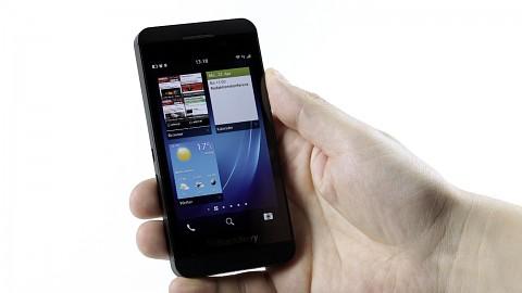 Blackberry 10 auf dem Z10 - Test