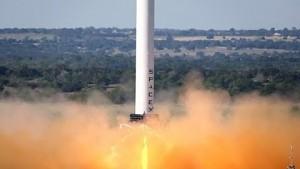 Testflug der Grasshopper - SpaceX