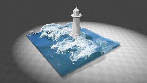 Dynamische Wassereffekte mit Nvidia PhysX - Techdemo