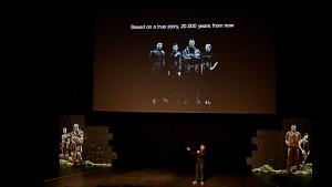 Vorstellung der Eve-TV-Serie auf dem Eve Fanfest 2013