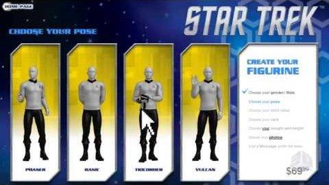 Star Trek 3D Me - Trailer