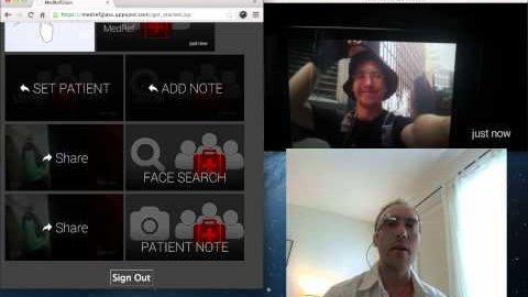 Google Glass lernt, Gesichter zu erkennen