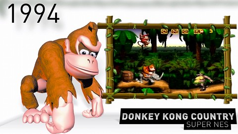 Donkey Kong Country Returns 3D - Trailer (History)