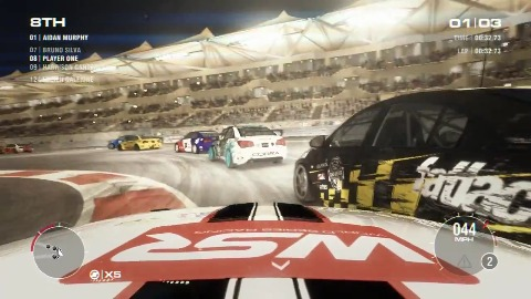 Grid 2 - Gameplay-Demo (Yas Marina)