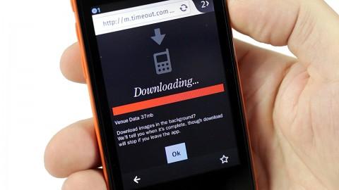 Firefox OS auf Geeksphone Keon ausprobiert