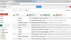 Gmail - Kategorisierung gegen E-Mail-Flut
