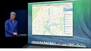 Apple zeigt seine Maps auf dem Mac - WWDC 2013
