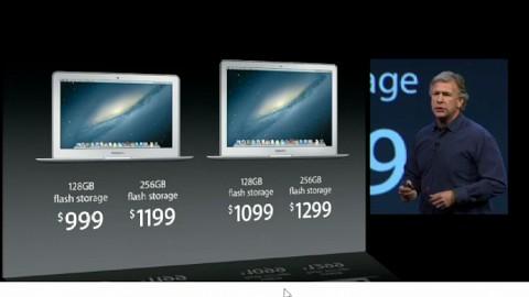 Apple stellt Macbook Air mit Haswell vor - WWDC 2013