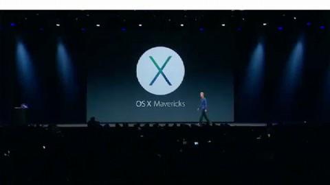 Apple führt OS X 10.9 alias Mavericks vor - WWDC 2013