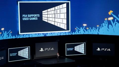 Gebrauchtspiele und kein Onlinezwang auf der PS4