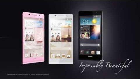 Huawei Ascend P6 - Trailer