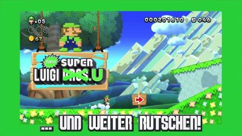 New Super Luigi U - Trailer (Gameplay, DLC)