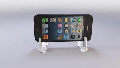 Pocket Tripod - Smartphone-Stativ im Kreditkartenformat